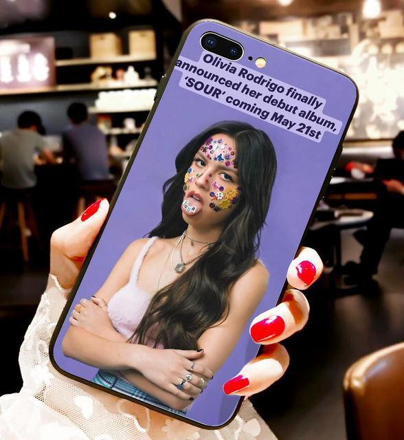 OLIVIA RODRIGO THEMED IPHONE CASE