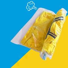 Вакуумный мешок домашний складной органайзер для одежды с прозрачной