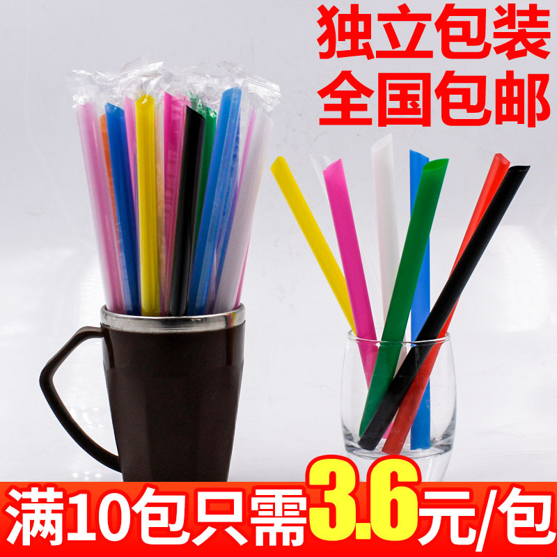 Tea Single Fruit Times A Suction Small Suction Thick Tube Color Equipment Porridge Suction Rice Bag Beads Stand Pipe Of Juice Co