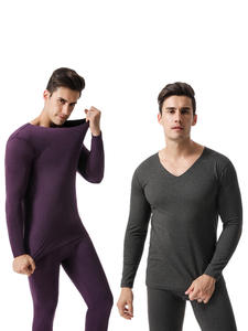 Underwear-Sets Long-Johns Men for Russian-Canada And European Plue-Size Comfortable High-Quality