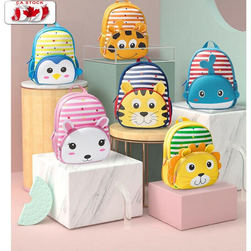 Children Backpack Cute Kid Baby Toddler Kindergarten Schoolbag 3D Cartoon Animal Bag Rucksack Shoulder Baby Gift For Toddler