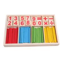 Детские деревянные палочки Монтессори математические игрушки