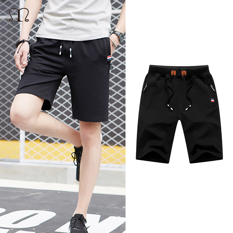 Men's Shorts Fashion Hot Work Elasticated Summer Casual Combat Shorts Male Fitness Brand Keen Length Trousers Black Grey Blue