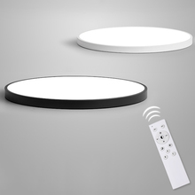 PADN Simple Modern Led Ceiling Lights For Living Room Bedroom Study Room White Black Indoor Light fixtures Hall Dimmable Lamp