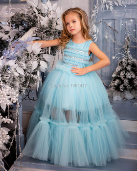 New Girl Dress Baby Birthday Party Dress Christmas Dress Miss Pageant Dress Three-piece dress