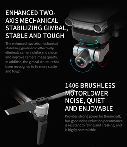 Image 2 - RC Quadcopter L109 Pro Drone GPS 4K HD Two Axis Anti Shake Stable Gimbal Camera 5G WIFI FPV Brushless Motor 1200m Long Distance