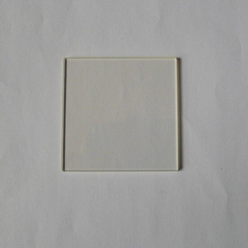 BK7/H-K9L/K9 Glass Optical Glass Plane Window K9 Protective Lens 15*15*1.1mm0.5mm