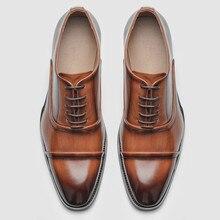 Zapatos formales para hombre, calzado elegante y cómodo, zapatos de vestir de Oficina # KD6255, 40 ~ 46