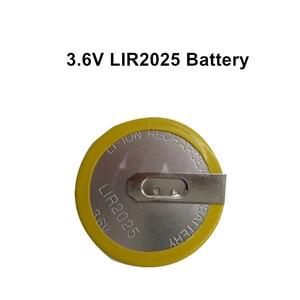 Image 5 - RIOOAK 10/20/50/100pcs Rechargeable LIR2025 Battery 3.6V For BMW key e46 e39 e36 e38 e34 Remote Car Key Shell Cover Case Battery