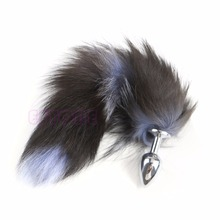 New Love Faux Fox Tail Butt Anal Plug Sexy Romance Funny Adult Product Sex Toy стоимость