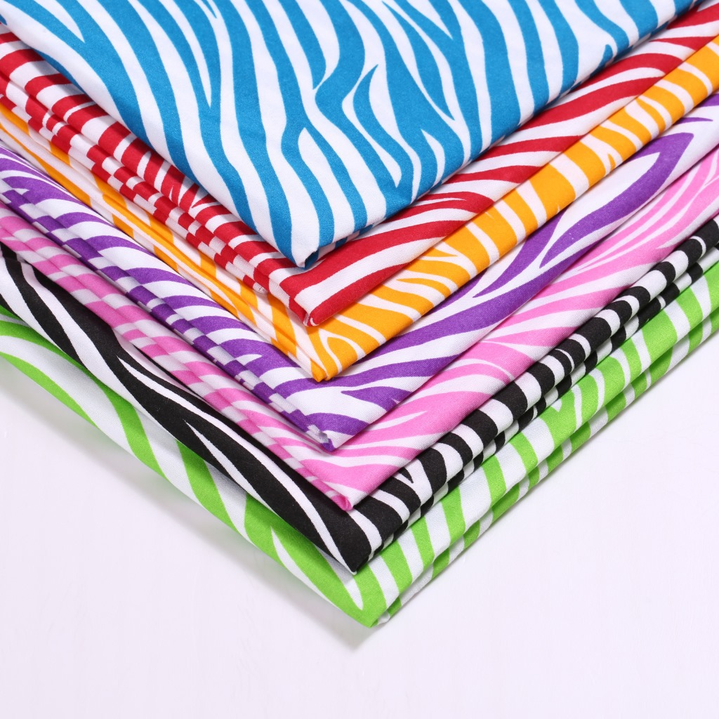 David accessories 50*145cm Striped 100% Polyester Fabric Tissue Kids Bedding Home textile for Sewing Cloth Quilting,c12327