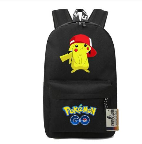 Lovely Pikachu School Bags Pikachu Cute Backpacks POKEMON Concept Daily Wear Backpacks Anime Game Fans Mochilas Gift