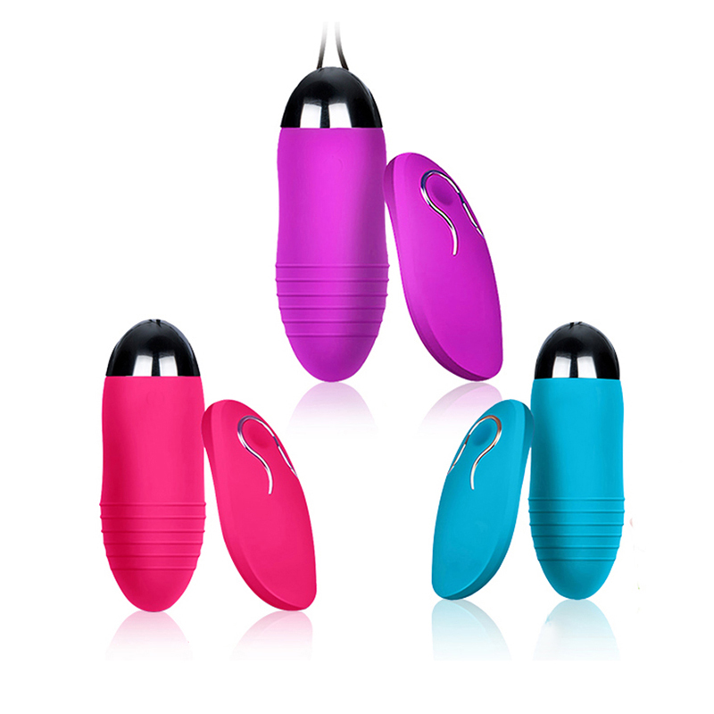 Fashion Women Silicone Battery Edition Vibrating Waterproof Silent Tuna Egg Adult Supplies in Vagina Balls from Beauty Health