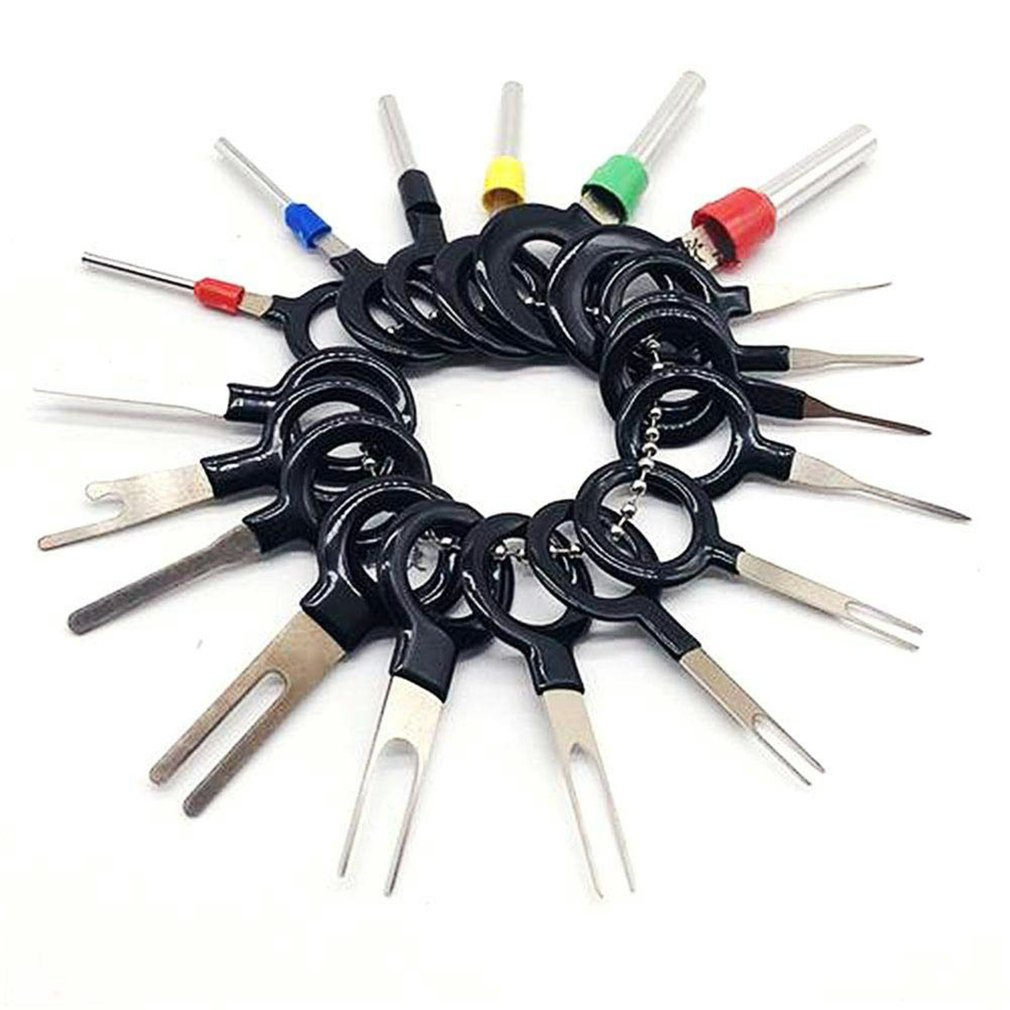 36 Pcs/set Auto Electrical Wiring Terminal Puller Tool Car Terminals Removal Tool Electrical Wiring Crimp Connector Pin Kit
