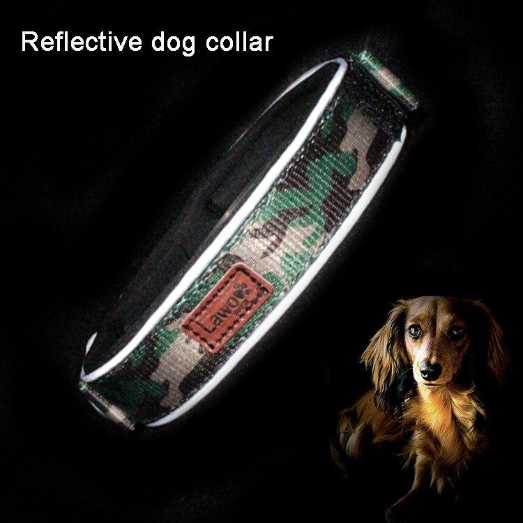 Dog Neck Ring Pet Reflective Big Dog Neck Ring Small Dogs Anti-Strangler Circle Large Dogs Medium Golden Retriever Pet Supplies