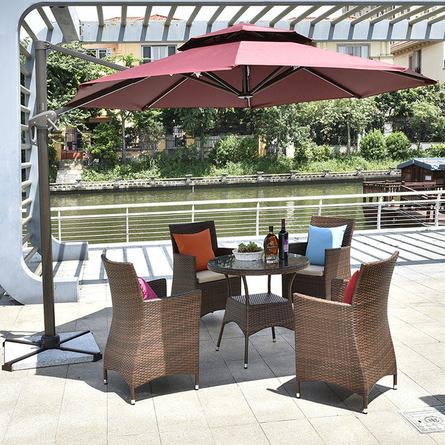 Balcony Table and Chair Combination 6