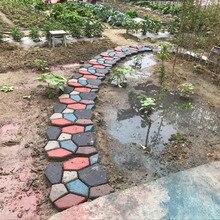 Floor Path Maker Mould Concrete Mold Reusable DIY Paving Durable for Garden Lawn HY99