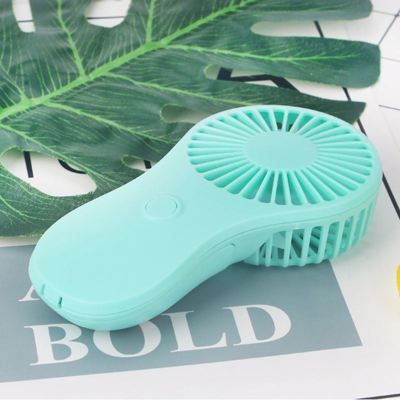 Mini Portable Pocket Fan Cool Air Hand Held Travel Cooler Cooling Mini Fans Power By 3x AAA Battery 4XFB