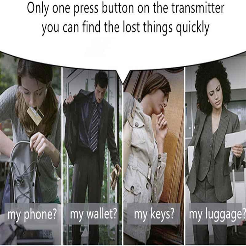 Hot 3C-Wireless RF Key Finder Locator dengan Senter LED, Hadiah Natal Gadget Elektronik Hadiah untuk Pria, Wanita anak-anak, Remaja-