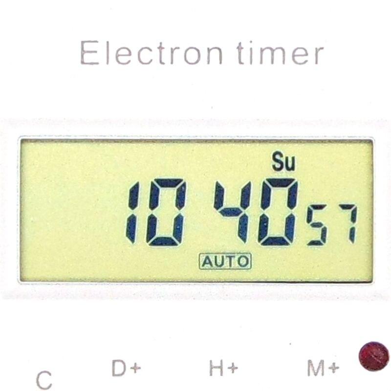 Temporizzatore digitale programmabile DIN RAIL interruttore - Strumenti di misura - Fotografia 5
