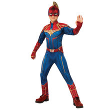 Halloween Superman Captain Marvel Super hero Cosplay Kostüm für kinder Jungen Phantasie Party Overall Kleidung Sets(China)