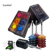 GraceMate 662 Substituto para HP662XL Recarregáveis Cartucho de Tinta para Impressora HP Deskjet 1015 1515 2515 2545 2645 3545 4510 4515 4516 4518