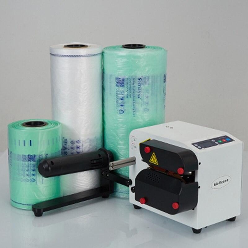 Obrabiarki narzędzia do pakowania maszyna do poduszek powietrznych przetwarzanie żywności w pełni automatyczna inteligentna maszyna do baniek mydlanych torebkarka powietrzna