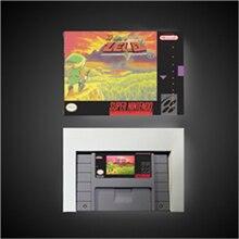 BSตำนานของZeldaed Remix (แผนที่ 1 & แผนที่ 2)  เกมRPG Cardประหยัดแบตเตอรี่USรุ่นขายปลีกกล่อง