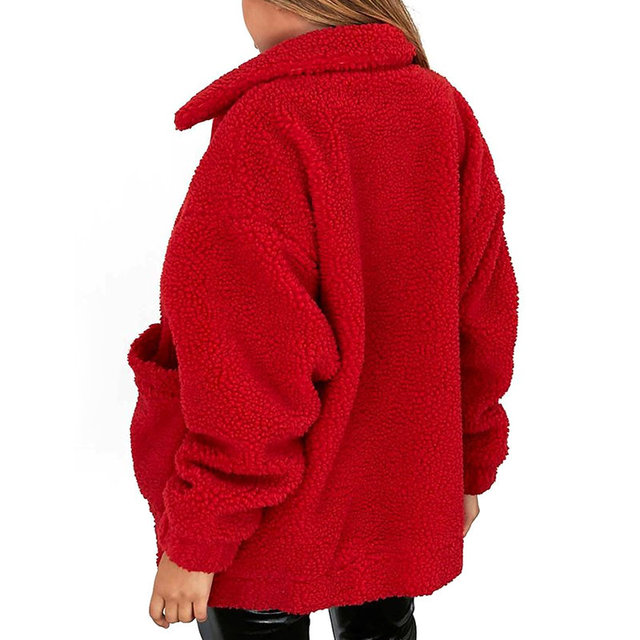 ZOGAA Elegant Faux Fur Coat Women 2018 Autumn Winter Warm Soft Zipper Fur Jacket Female Plush Overcoat Casual Outerwear