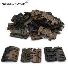Vulpo 32 unids 1 pacote tático airsoft painéis picatinny ferroviário handguard capa caça