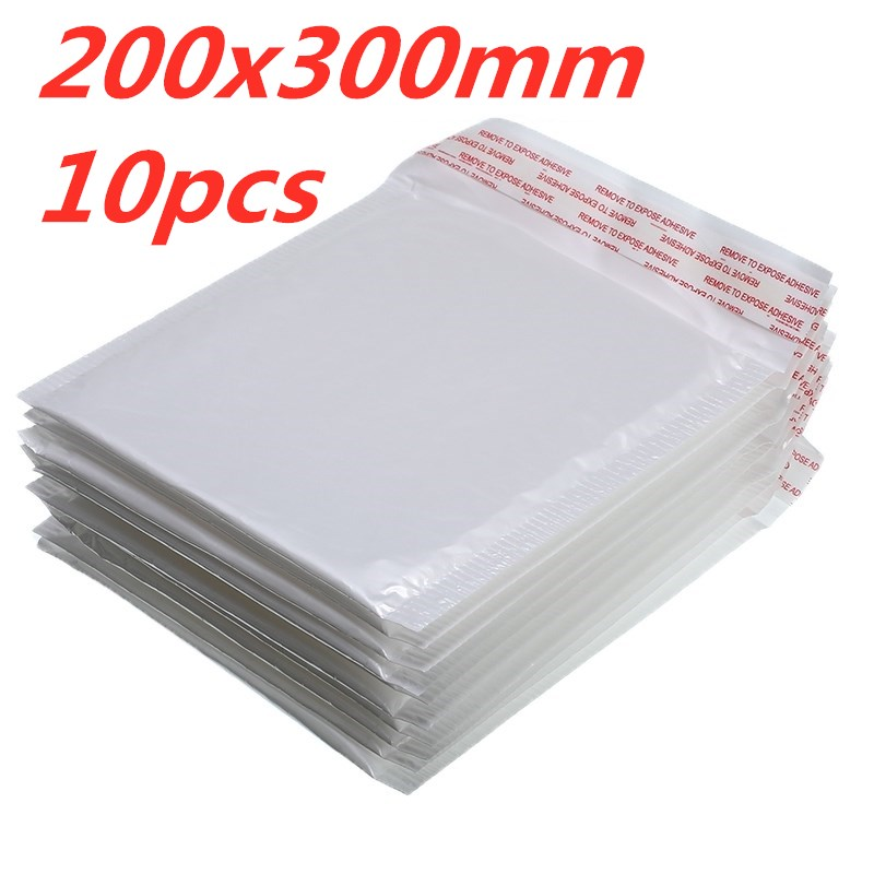 10 PCS/Lot White Foam Envelope Bag Different Specifications  Mailers Padded Shipping Envelope With Bubble Mailing Bag Hot Sale