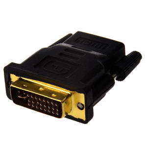 DVI-I Dual-Link 24+5 Male to HDMI Female Adapter