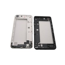 Azqqlbw 5.3 สำหรับ LG X Power K220DS K220 ที่อยู่อาศัยกลางกรอบกรอบกลางสำหรับ LG X Power K220DS K220 กลับกรอบอะไหล่