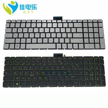 New AR FR keyboard For HP 15-BP00 15-BP015 15-BS 15-BW 250 G6 15-CC 15-BC 17-AE 15-CK 15-BP 15-CD with backlit Laptop keyboard фото