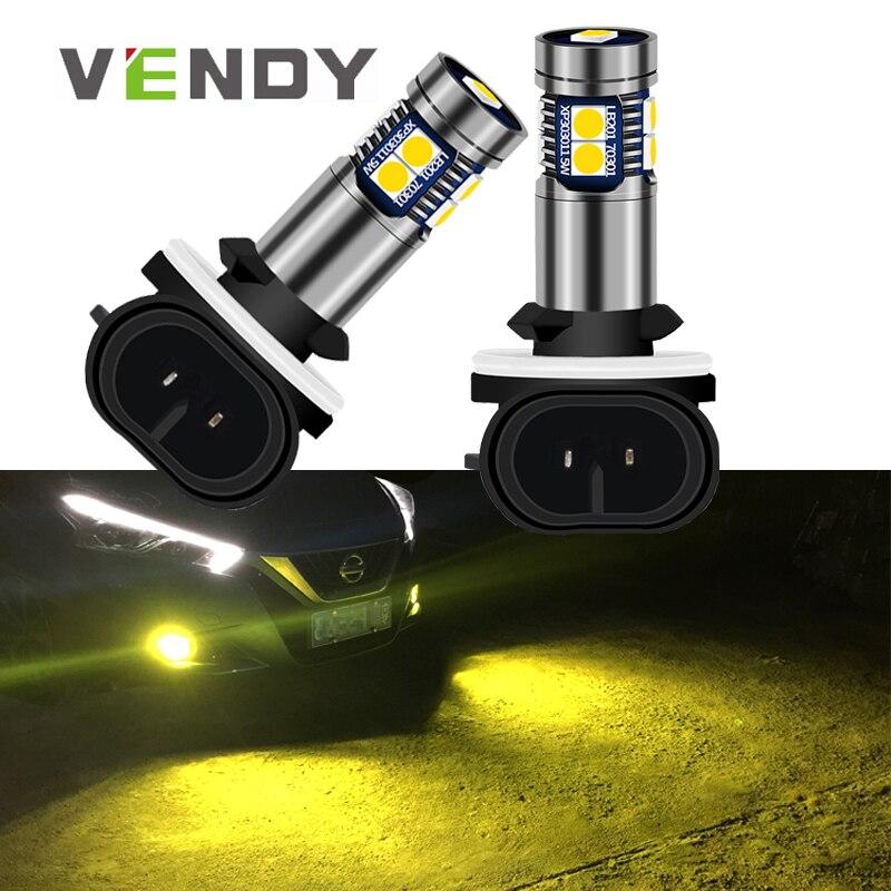 1 шт. Автомобильный светодиодный светильник 881 H27 H27W Canbus LED лампа для hyundai Accent Elantra Sonata Santa Fe Tucson kia Sportage Sorento Spectra