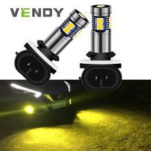 1pcs Car LED Light 881 H27 H27W Canbus Lamp Bulb For hyundai Accent Elantra Sonata Santa Fe Tucson kia Sportage Sorento Spectra