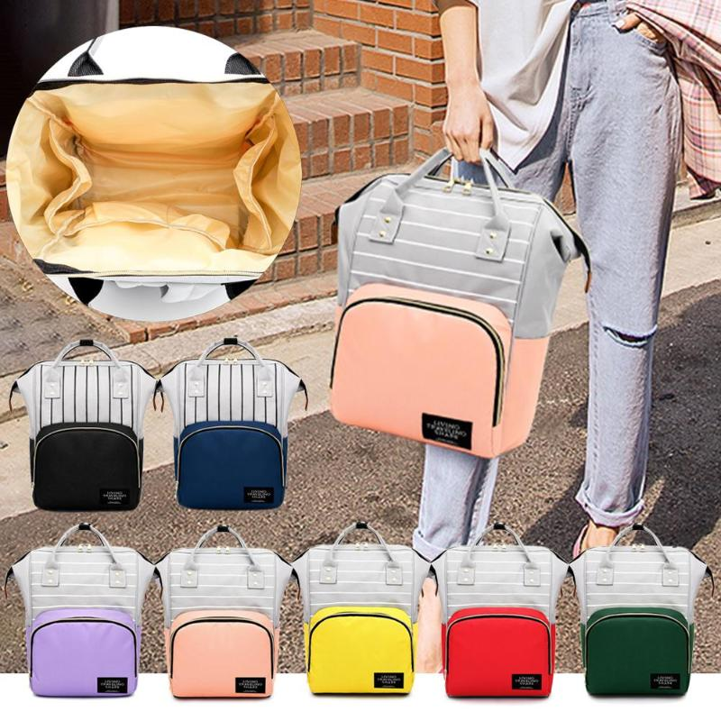 Fashion Mummy Maternity Nappy Bag Large Capacity Baby Bag Outdoor Travel Nursing Backpack For Mom Desinger Bag Organizer