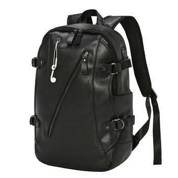 New Backpack Men\'s Backpack Student Bag Travel Backpack Leisure Bag Computer Bag Large Capacity - DISCOUNT ITEM  20 OFF Luggage & Bags