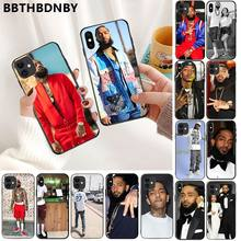 Telefoon Case Rapper Nipsey Hussle Zwarte Soft Shell Telefoon Cover voor iPhone 11 pro XS MAX 8 7 6 6S Plus X 5 5S SE XR case(China)