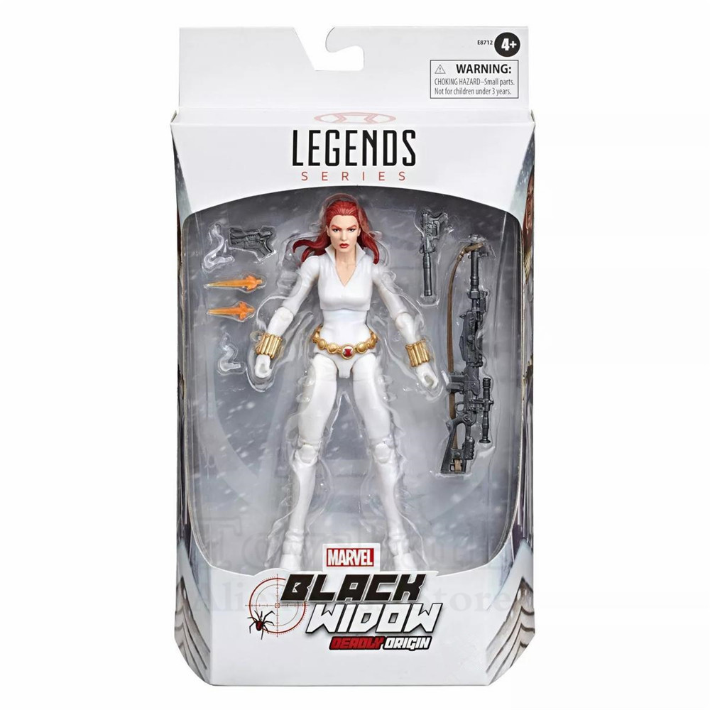 Marvel Legends Black Widow Deadly Origin 6