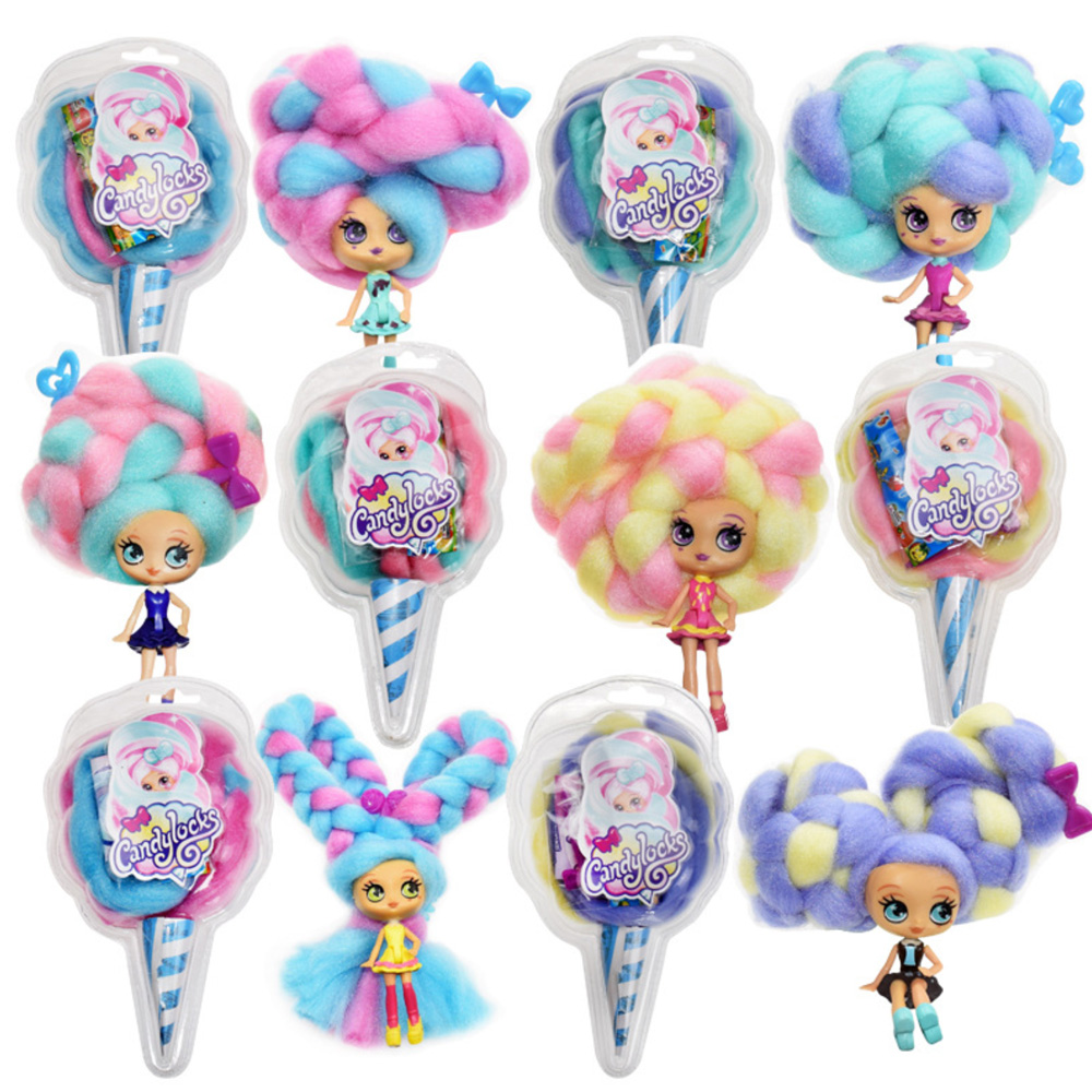 Fashion Candylocks Sweet Treat Toy LOL Dolls Kids Girls Marshmallow Hair 30cm Surprise Hairstyle With Scented Christmas Gifts