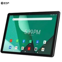 Nueva Tablet Pc 10,1 pulgadas Android 9,0 tabletas Octa Core Google Play 3g 4g llamada telefónica LTE GPS WiFi Bluetooth de vidrio templado de 10 pulgadas