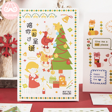 Mr.Paper 30pcs/box Merry Christmas Postcards for Santa Presents Creative Stationery Writing Greeting Gifts