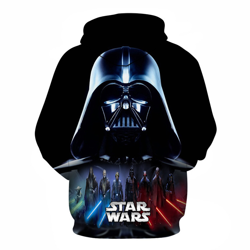 3D Printed Star Wars Hoodies Men&Women 14