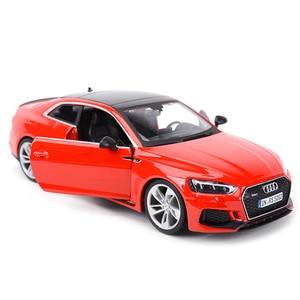 Image 2 - Bburago 1:24 Audi RS5 Coupe Sport Auto Statico Pressofuso Veicoli Da Collezione Modello di Auto Giocattoli