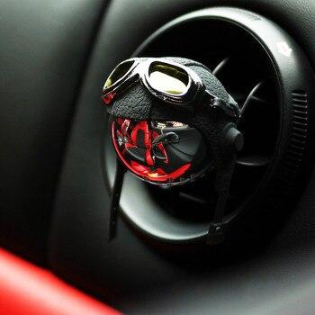 цена на Retro Style Car Diffuser Original Design Car Air Freshener Hanging Car Perfume Stainless Steel Car Fragrance