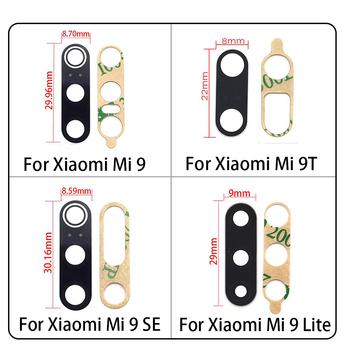 Nowy dla Xiaomi Mi 9 Mi9 Se Mi9 Mi 9T 10T uwaga 10 11 Lite Poco X3 NFC Poco F3 tylny obiektyw szklany obiektyw z naklejką samoprzylepną tanie i dobre opinie JIARUILA CN (pochodzenie) Glass+Adhesive Sticker For Xiaomi Mi 9 Lite Test Before Shipping 6 Month For Xiaomi Mi 9 Mi9 For Xiaomi Mi 9T Mi9T