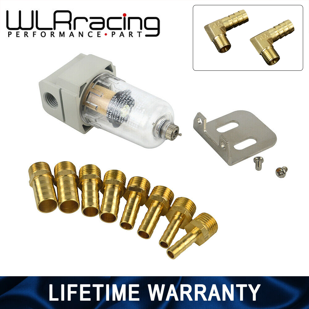 WLR Universal Engine Oil Catch Tank / Oil Can Filter Out