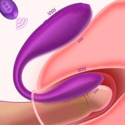 Remote Control Couples Vibrators Panties for Women Clitoris Stimulator Adult Man Anal Sex Machine Female Masturbator Vagina Toy