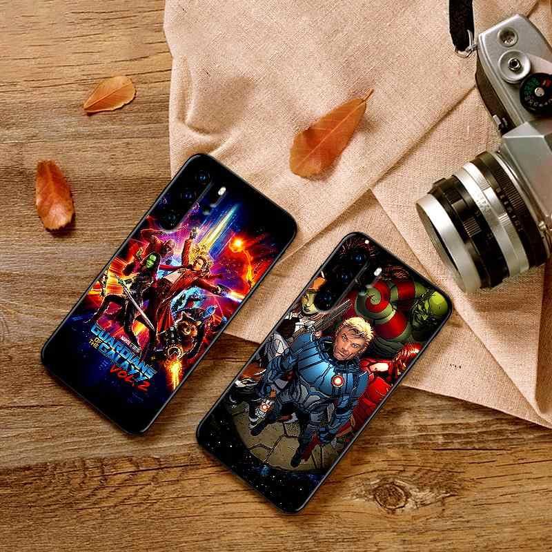 Các dành cho Galaxy Marvel Điện Thoại Di Động Trường Hợp cho Huawei P10 P20 2019 M10 M20 M30 S6 S7 Edge S10 S9 s8 S6 S7 PLUS Silicone Mềm Bao